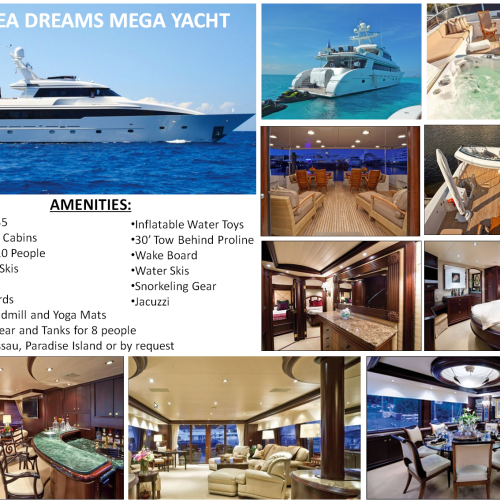 132' Sea Dreams Mega Yacht