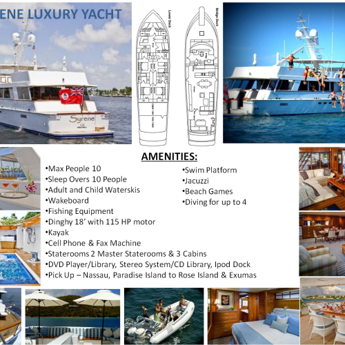 95' SYRENE LUXURY YACHT