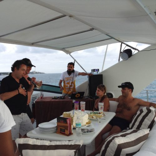 Retirement-Party-Yachts-Cancun-Luxury-Charters