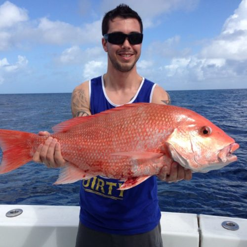 Yachts-Riviera-Maya-Deep-Sea-Fishing-Red-Snapper