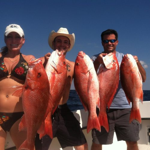 Yachts-Riviera-Maya-Deep-Sea-Fishing-Red-Snapper-4