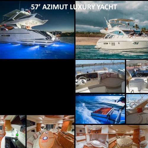 57' AZIMUT LUXURY YACHT