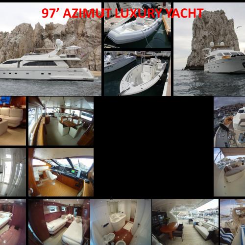 97' Azimut Luxury Yacht